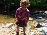 heaving rocks