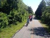 Bike path to Woods Hole