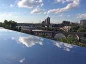 View from the Guthrie's Endless Bridge