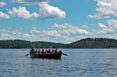 big voyageur canoe