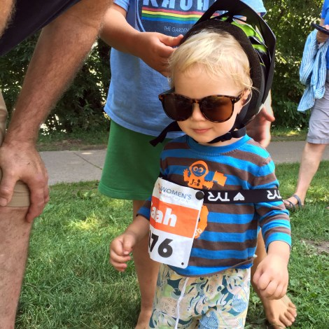 Oliver was a spirited supporter too!