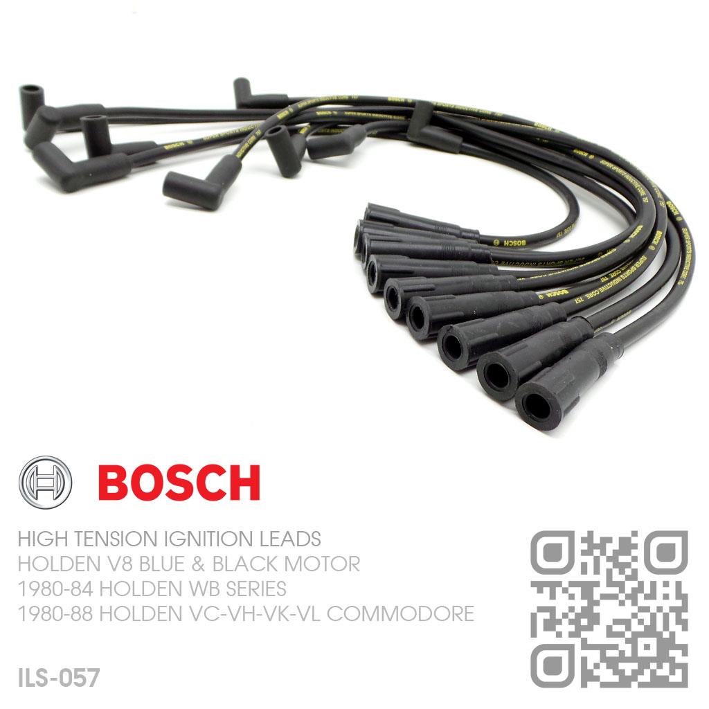 Bosch 8mm Ignition Leads V8 253 Amp 308 Blue Holden Wb Ute Van Tonner Statesman