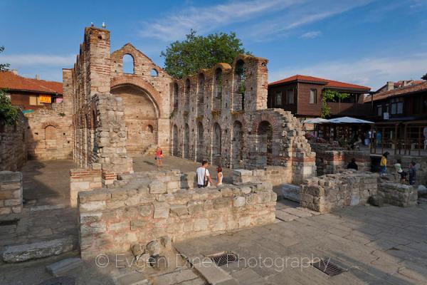 Базилика Света София в Несебър - Фотобанка