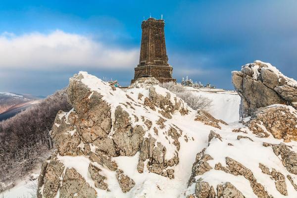 Снежна Шипка - Фотобанка