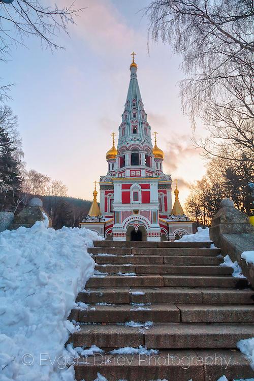 Руска църква в Шипка - Фотобанка