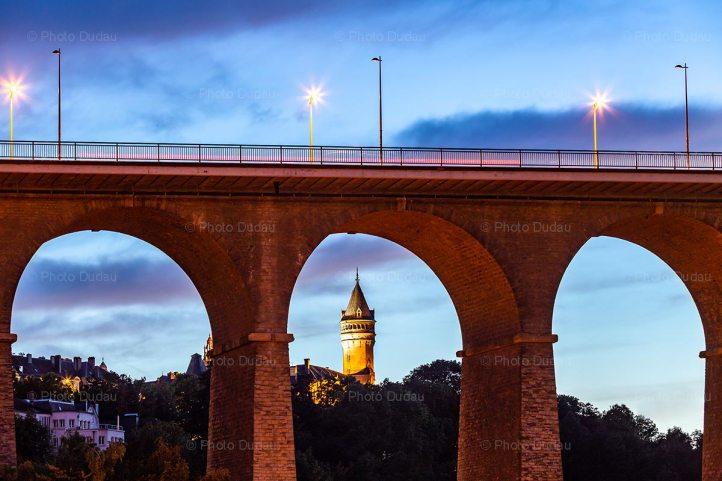 Passerelle Bridge and Spuerkees Tower