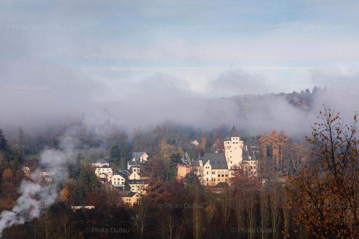 Colmar Berg castle in Luxembourg