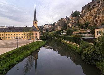 Abbaye de Neumunster in Grund