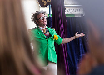 Jonn Happi during a performance at Ettelbrooklyn Street Fest