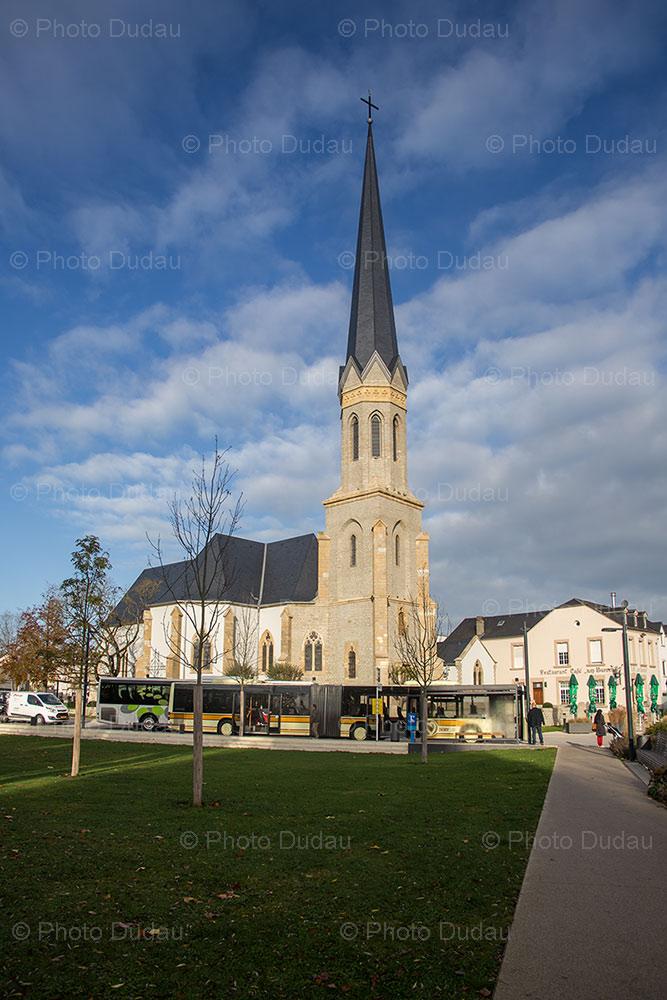 Church in Bertrange, Luxembourg