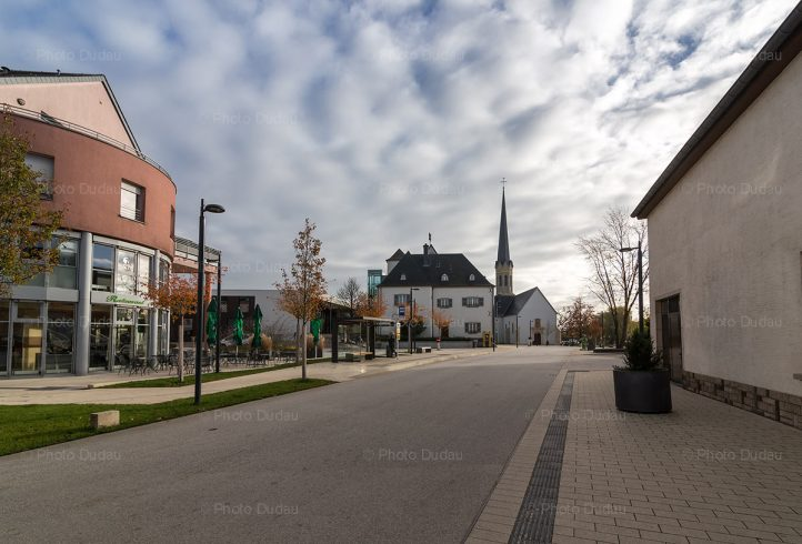Bertrange town in Luxembourg