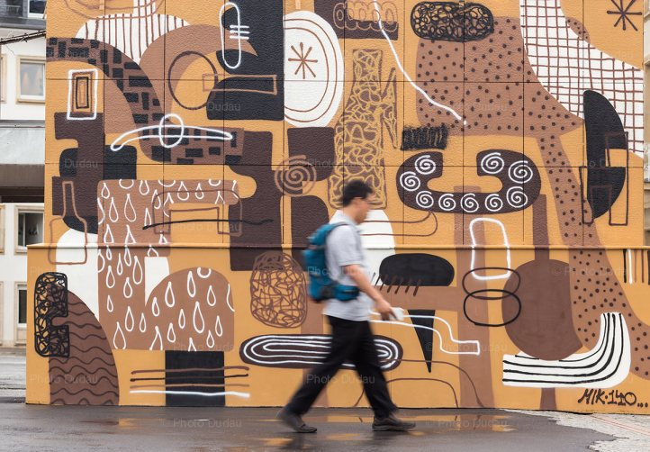 Street art in Luxembourg