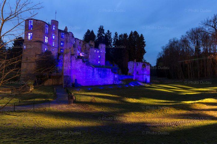 Beaufort Castle lights magicastle nights 2018