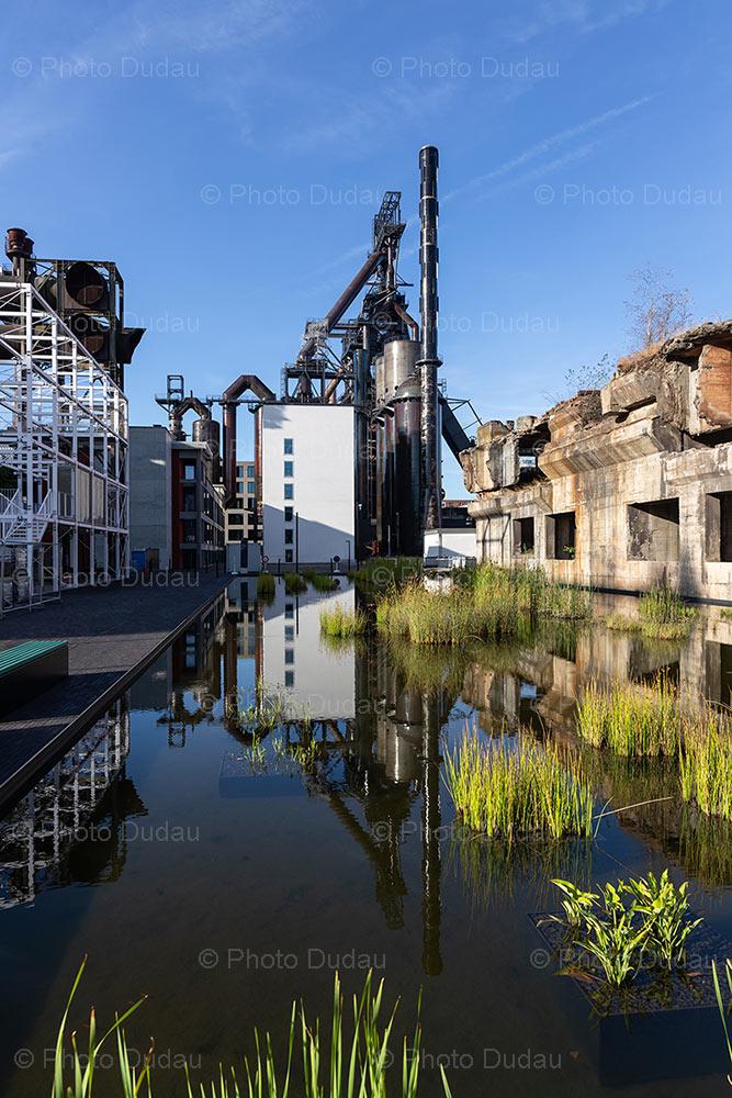 Esch-sur-Alzette Belval industrial furnace