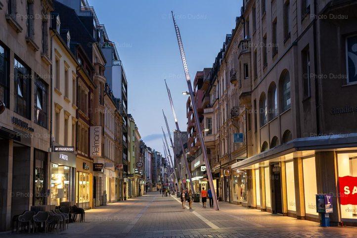 Esch-sur-Alzette downtown