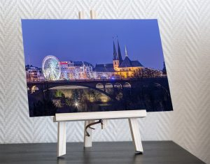 desk print christmas market luxembourg