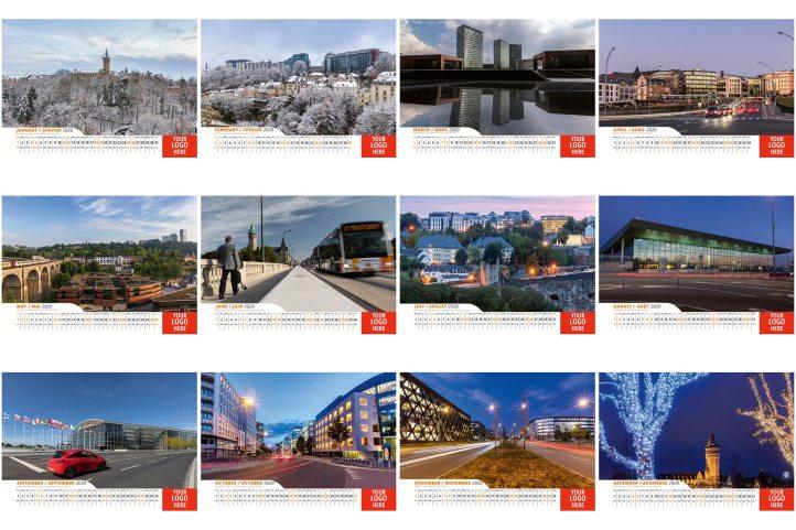 business calendar Luxembourg 2020
