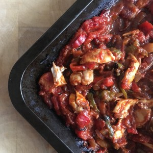 Oven Baked Paprika Chicken