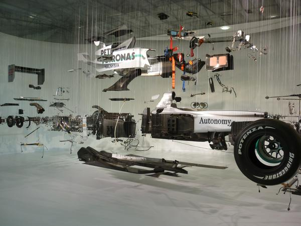 Exploded Formula One Car 3685 Stockarch Free Stock Photos
