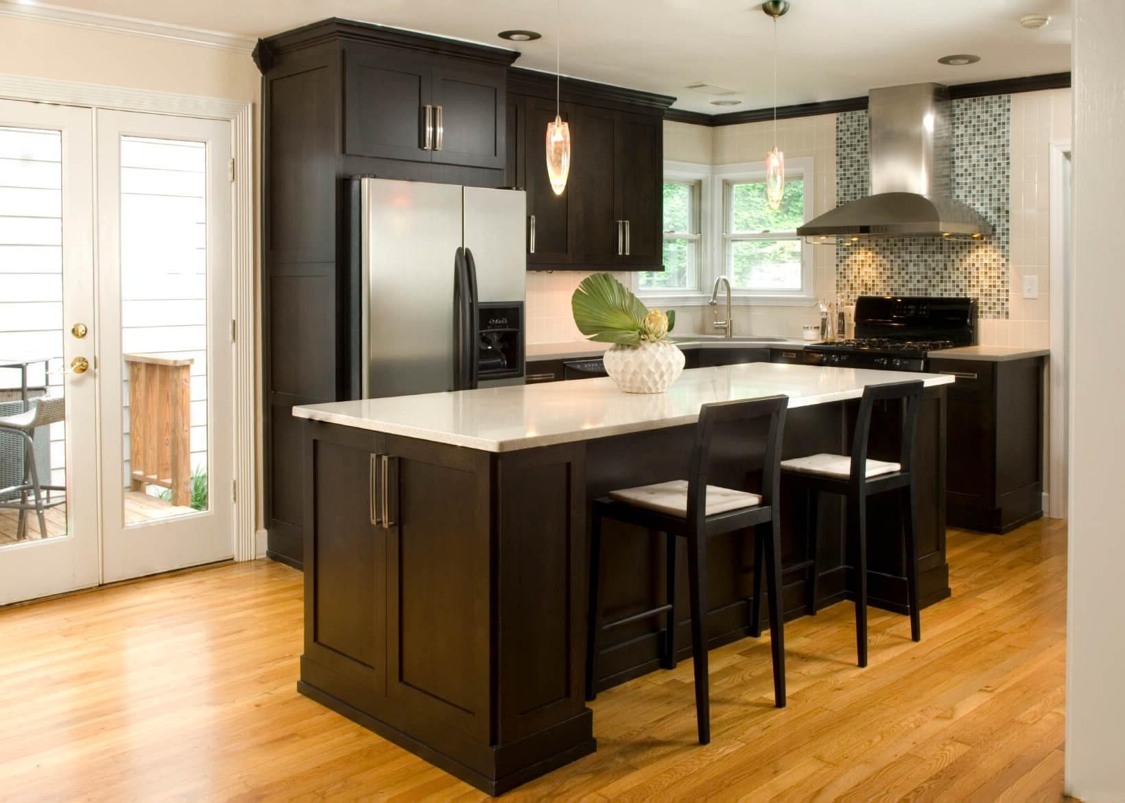 Modern Kitchen Ideas Small Kitchen Black Kitchen Cabinets Novocom Top