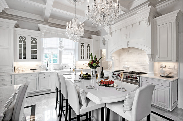 How To Design A Traditional Kitchen With White Kitchen