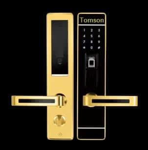 מפואר מנעול אלקטרוני טביעת אצבע וקוד- מותאם לכל דלת כולל פלדלת ודומיו ZM-74