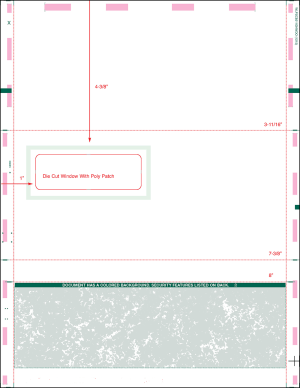 Letter C Fold Pressure seal with envelope