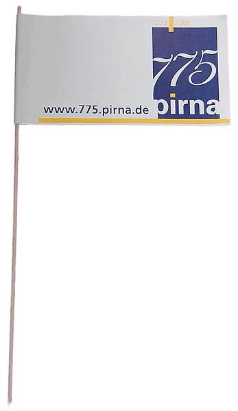 papierfahne drucken lassen