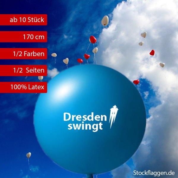Riesenballon bedrucken lassen, 170 cm Umfang, ab 10 Stück