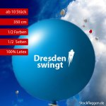 Riesenballon bedrucken lassen, 350 cm Umfang, ab 10 Stück