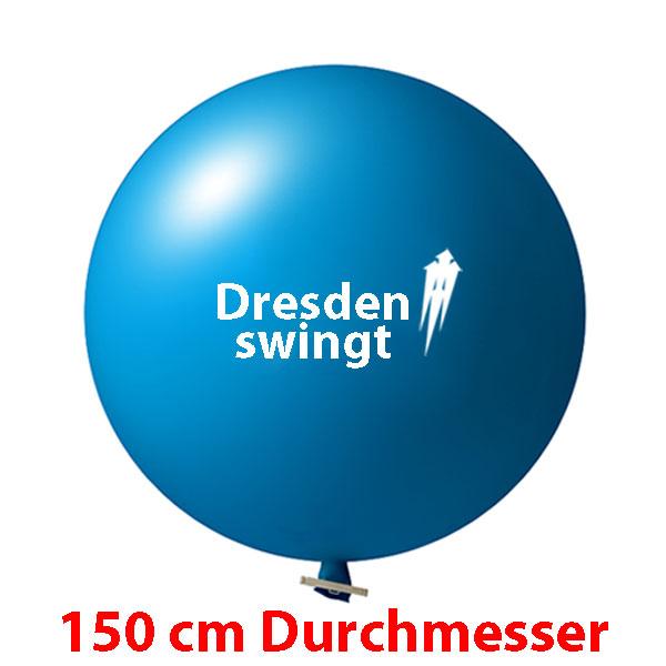 150 cm Riesenluftballons bedruckt 1 oder 2 farbig ab 10 Stück
