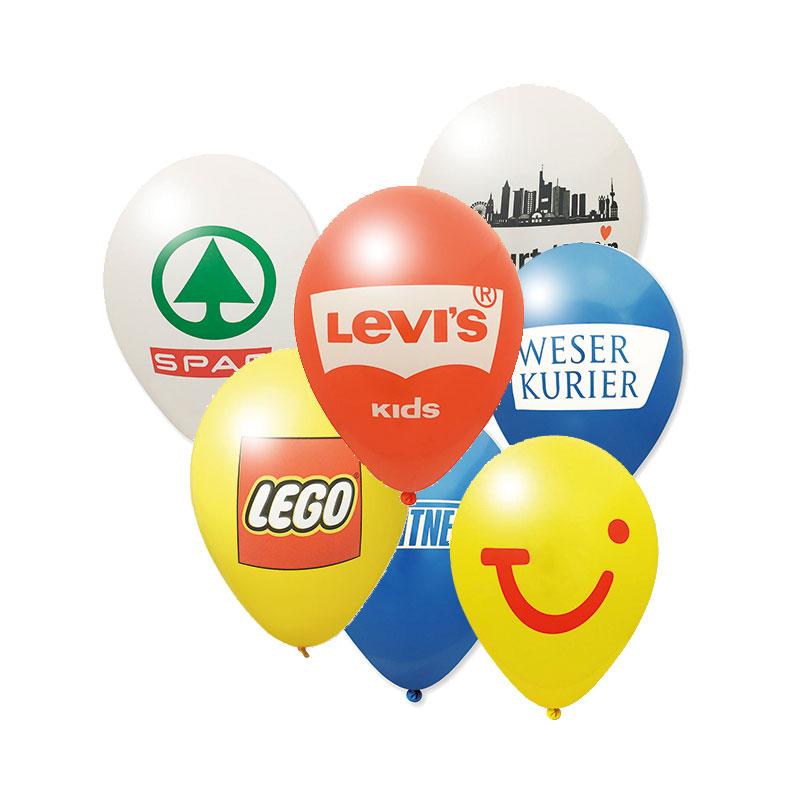 Luftballons für die Geschäftseröffnung