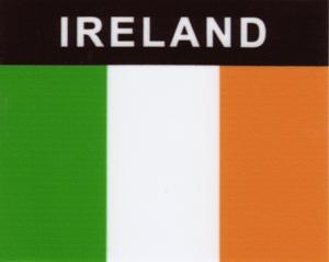Aufkleber Irland Flagge
