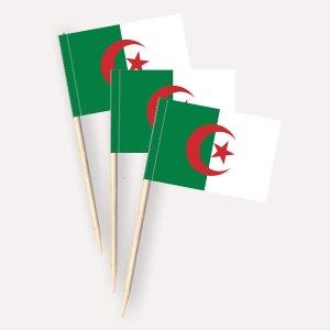 Algerien Käsepicker, Minifahnen, Zahnstocherfähnchen