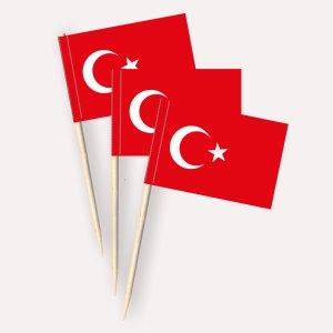 Türkei Käsepicker Minifähnchen Zahnstocherfähnchen