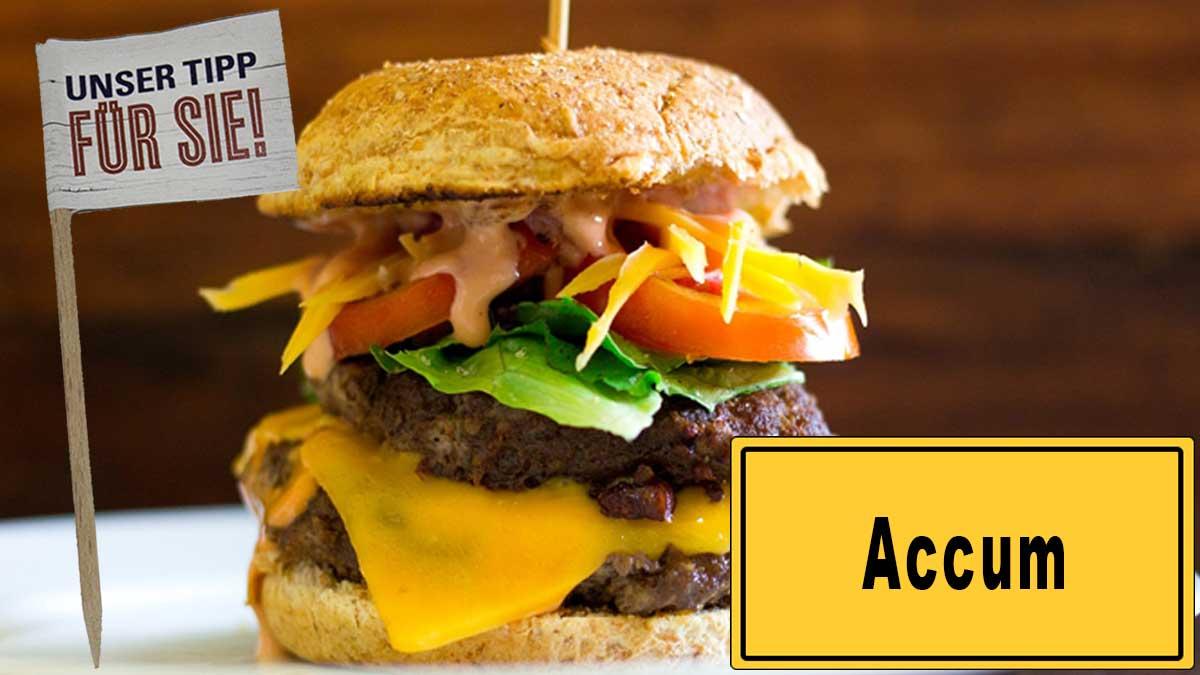 Burgerfähnchen bedrucken in Accum