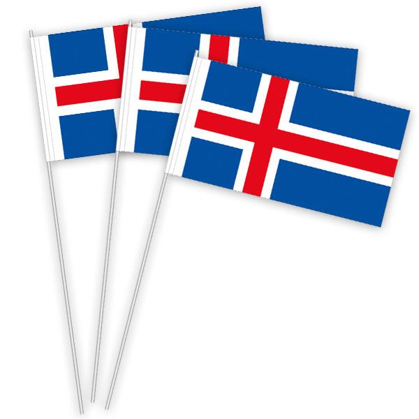 Island Papierfahnen kaufen