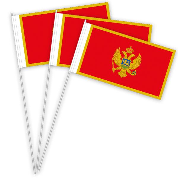 Montenegro Papierfahnen kaufen