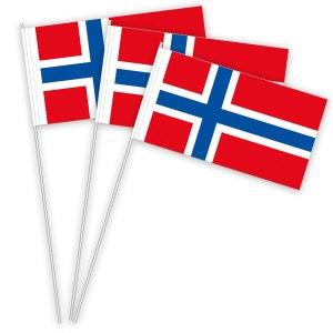 Norwegen Papierfahnen kaufen