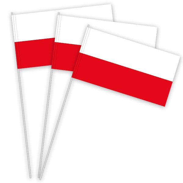 Polen Papierfahnen kaufen