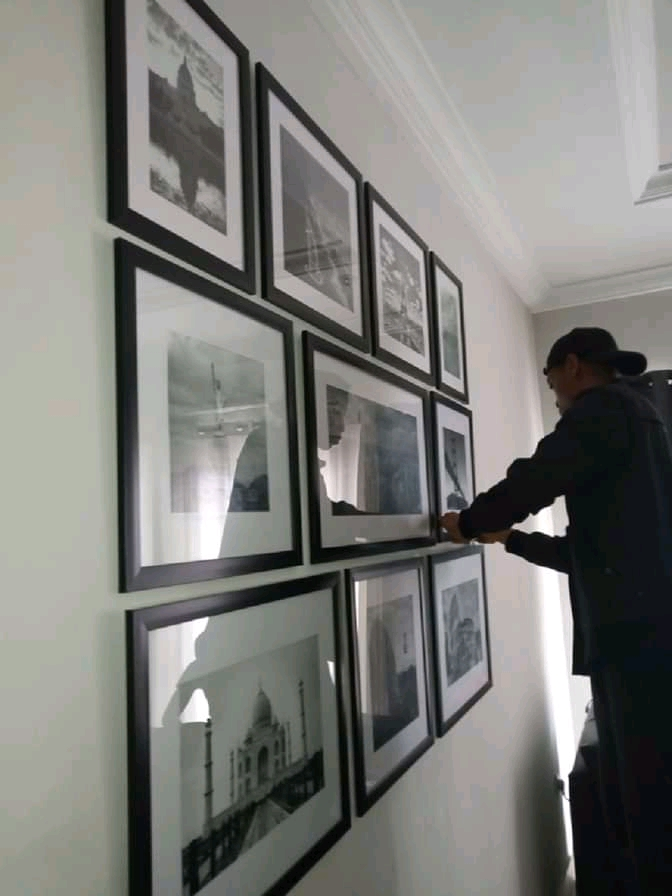 Perfectly HANG PICTURE FRAMES IN NIGERIA in 2 Mins