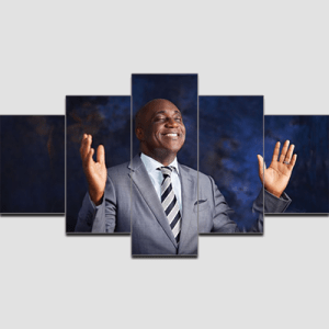 Canvas Print Split Panels (5 in 1) – Pastor David Ibiyeomie