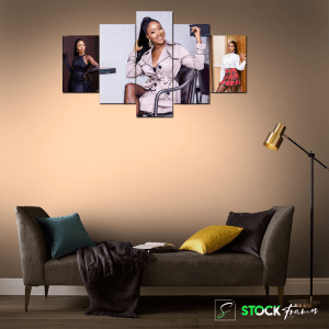 Canvas Print Split Panels (5 in 1) – 3 image insert