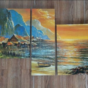 Canvas Print Split Panels (3 in 1) – Artworks