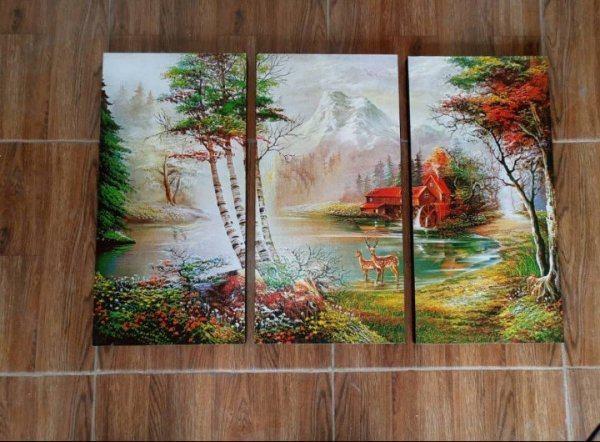 Canvas Print Panel splits