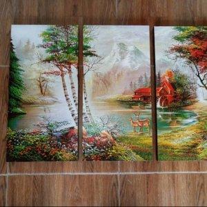 Canvas Print Split Panels (3 in 1) – Triplet