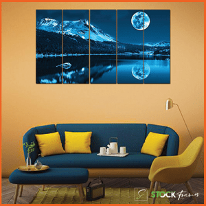 Canvas Prints Split Panel (5 in 1) – Full Panels
