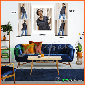 Canvas Prints Gallery Set Panels – 5 Images in 5 Frames