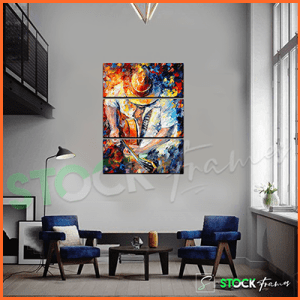 Canvas Prints Triptych – (3 Musical Wall Art)