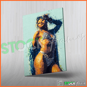 Canvas Prints Single Panels (Ladies Artwork) – 18×24 etc.